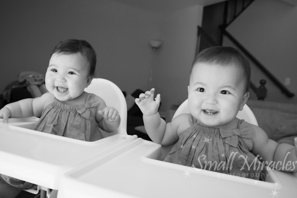 Rilka and Sadie 9 months old! {mountain view family photographer}