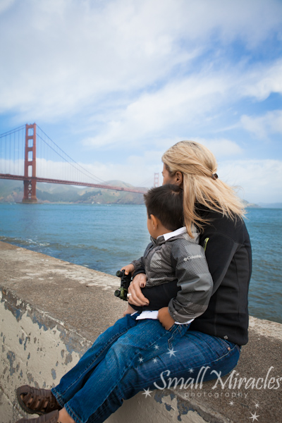 Golden Gate Bridge Fun {Family Photographer San Francisco}