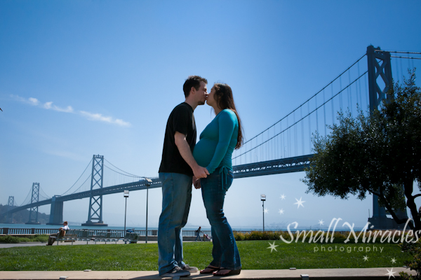 Bay Bridge and a Belly! {Maternity Photographer San Francisco}
