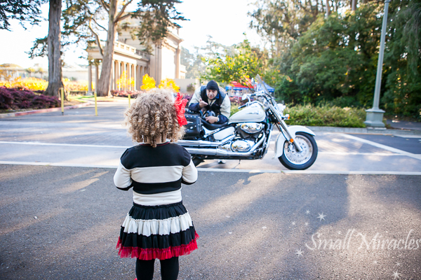 Motorcycle Fun! {family photographer san francisco}
