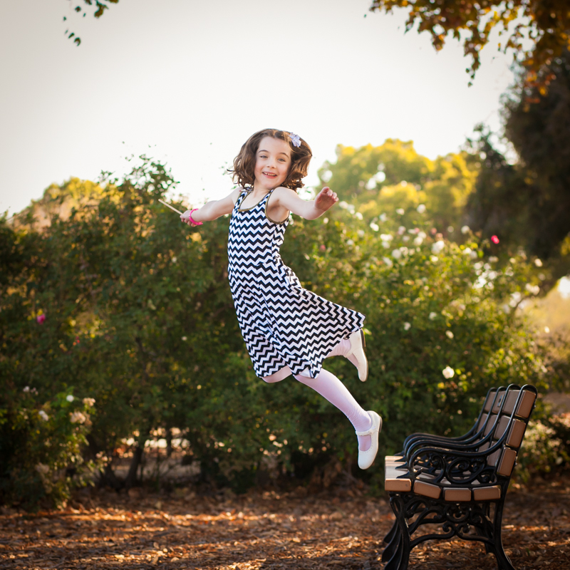 How High Can Maddie Jump?? {family photographer san jose}