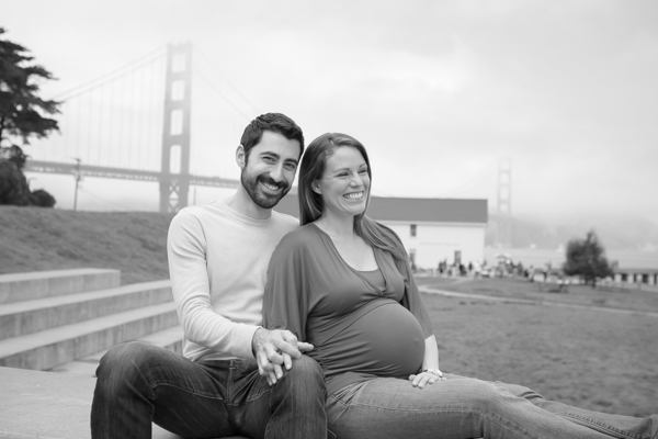 Belly Meets the Bay {San Francisco Maternity Photographer}