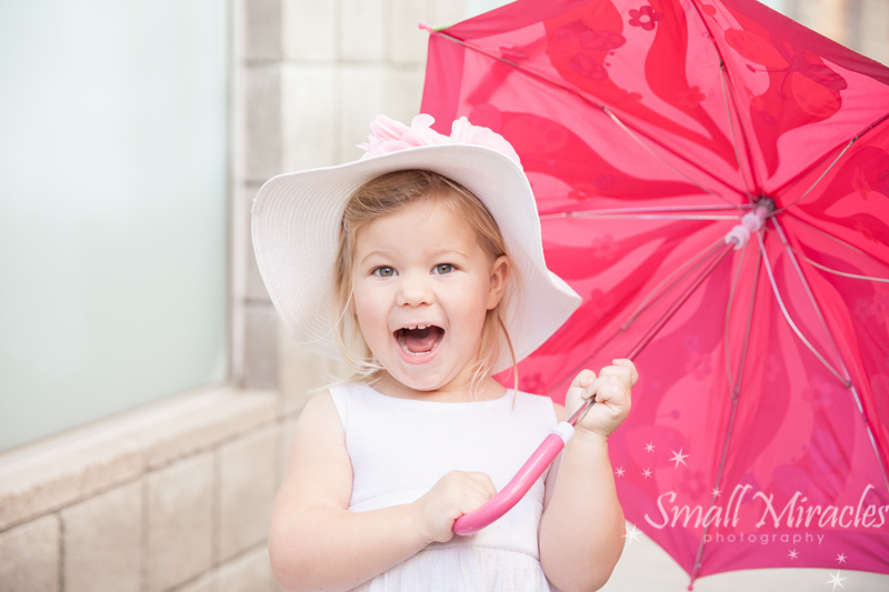 Why You Let the Little One Play With an Umbrella When It's Not Raining {lifestyle family photographer san francisco}