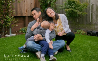 Backyard Family Photography Session {family photographer Daly City}